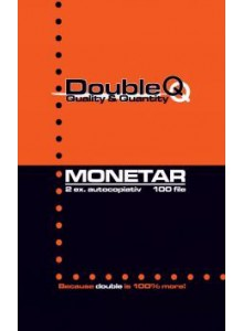 Monetar A6 2 exemplare Double Q