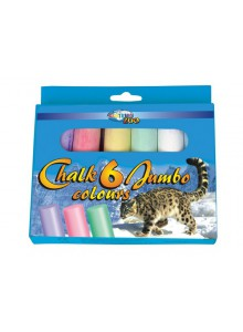 Creta color JUMBO 6 buc/set