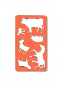 Sablon 6 animale domestice