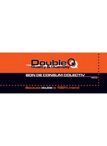 Bon consum colectiv A5,100file/top Double Q