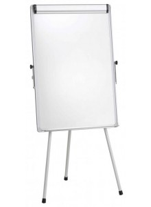 Flipchart whiteboard magnetic, 70x100 cm DOUBLE Q