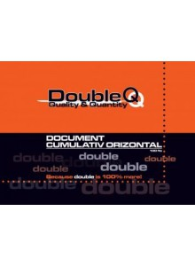 Document cumulativ orizontal A4 Double Q