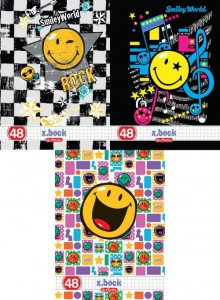 CAIET A5 48F PATRATELE SMILEY