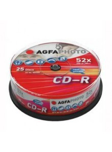 CD-R SLIM AGFAPHOTO 700MB 52X