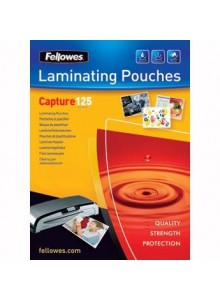 FOLIE 83X113MM 125 MICRONI 100/TOP FELLOWES