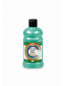 Acuarela lichida 300ml VERDE METALIC