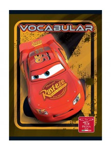 Caiet Capsat 12x17cm 24 Vocabular Cars