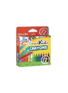 Creioane Cerate 12/set ColourKids
