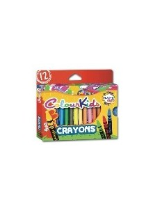 Creioane Cerate 12/set Jumbo ColourKids