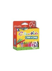Creioane Cerate 24/set ColourKids