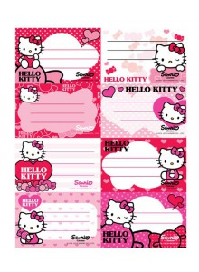 Etichete scolare 40/set Hello Kitty
