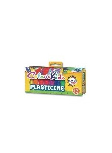 Plastilina 12/set 200gr B + F ColourKids