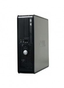 Calculatoare Dell Optiplex GX740 SFF, AMD Athlon 64 LE-1660, 2.8GHz, 2Gb DDR2, 80Gb SATA, Combo