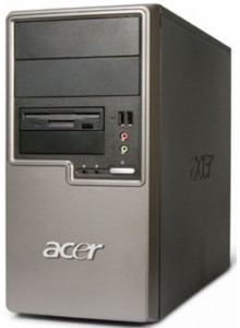 Calculator ACER Veriton M261 Tower, Intel Pentium E2140 1.60GHz, 2GB DDR2, 80GB SATA, DVD-RW