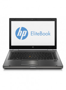 Hp EliteBook 8470p, Intel Core i5-3320M Gen. 3, 2.6GHz,4Gb DDR3. 320Gb SATA II, DVD-RW, 14 inch LED-Backlit HD