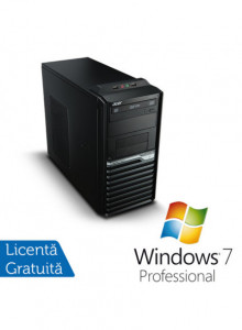 Acer Veriton M421G, AMD Athlon II X2 3.0 Ghz, 2Gb DDR2, 250Gb, DVD-ROM + Windows 7 Professional