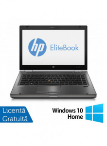 Hp EliteBook 8470p, Intel Core i5-3320M Gen. 3, 2.6GHz,4Gb DDR3. 320Gb SATA II, DVD-RW, 14 inch LED-Backlit HD + Windows 10 Home