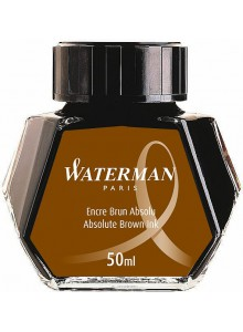 Calimara cerneala Waterman 50 ml. maro
