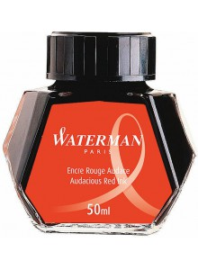 Calimara cerneala Waterman 50 ml. rosu