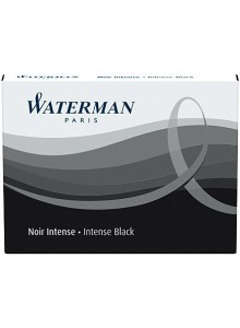 Cartuse cerneala Waterman negru 8/set