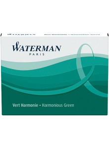 Cartuse cerneala Waterman verde 8/set